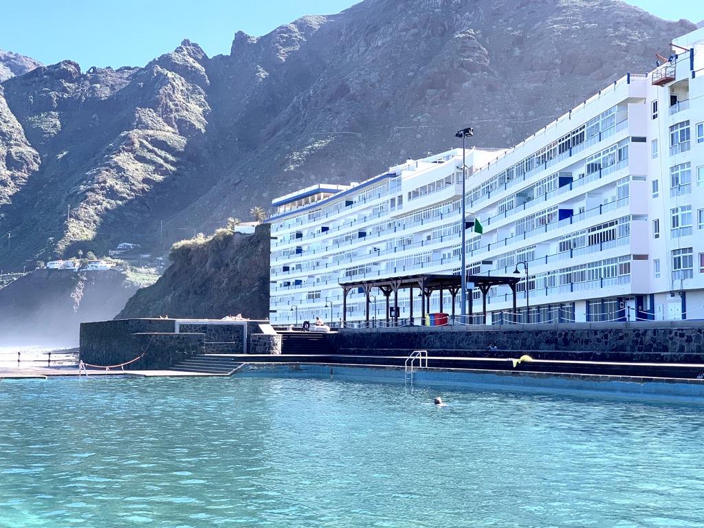 Bajamar: Apartment mit 2 Schlafzimmern