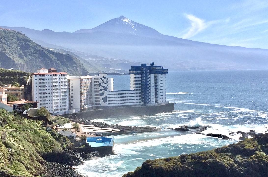 Apartment mit fantastischem Meer- und Teideblick