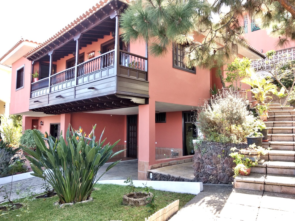 El Sauzal: Haus mit 2 trennbaren Etagen