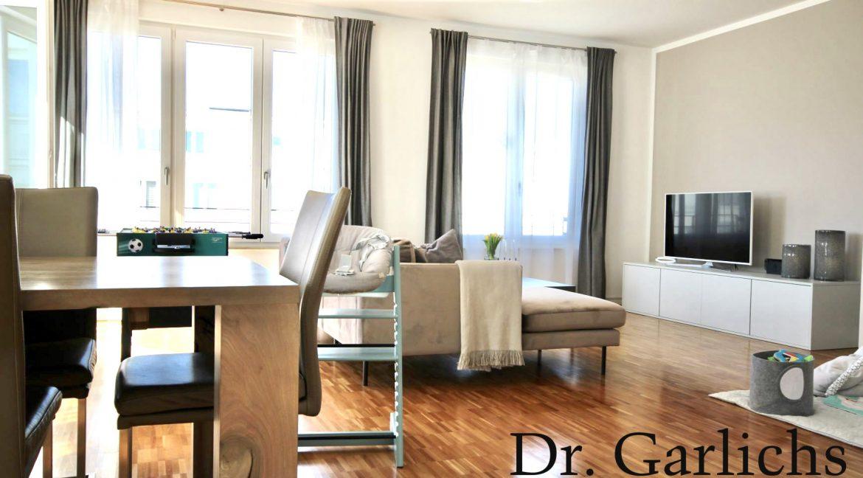 ID 1166 - Wohnung - Zehlendorf - Berlin - Wohnzimmer Ansicht 2