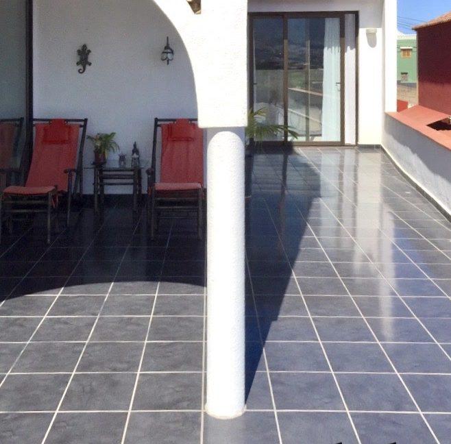 Los Realejos - Teneriffa - Apartment mit Garten