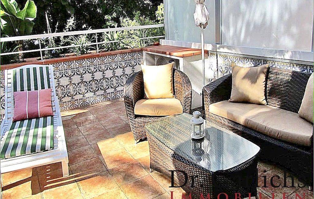 1 - Puerto de la Cruz - Wohnung - Teneriffa - ID 1540 - Terrasse