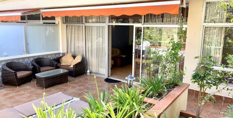Terrassen-Garten-Apartment nahe Taoro Park