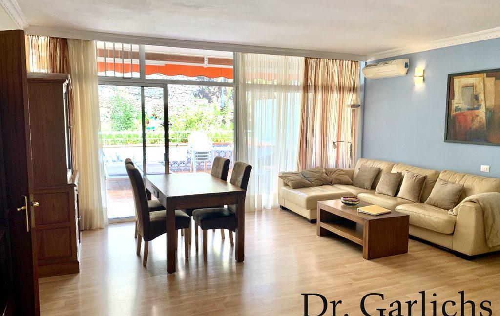 4 - Puerto de la Cruz - Wohnung - Teneriffa - ID 1540 - Wohnzimmer