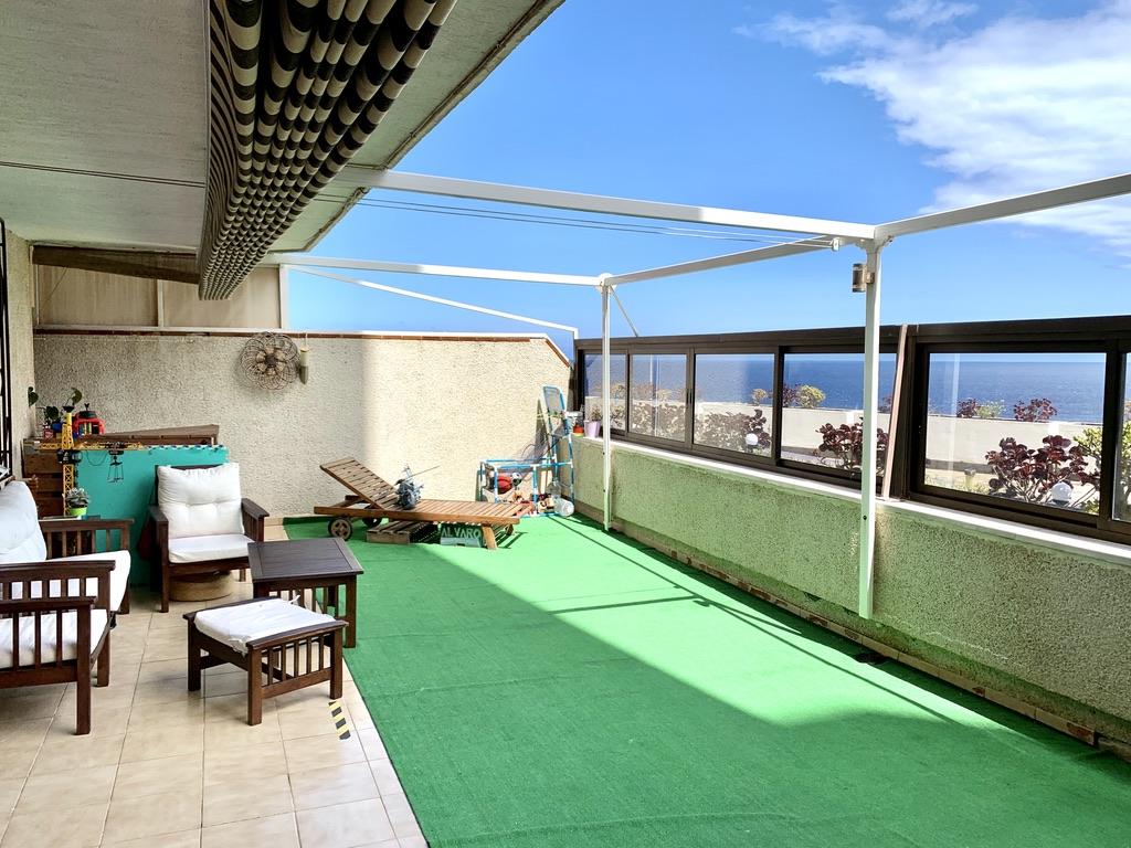 Terrassen-Wohnung in unmittelbarer Meeresnähe