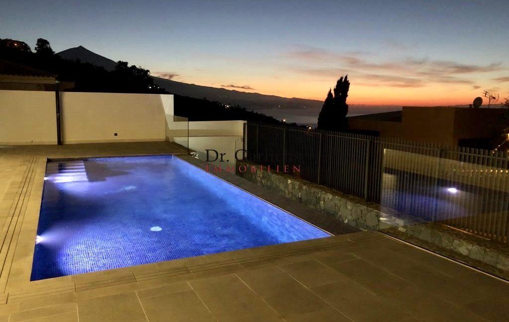 El Sauzal - Teneriffa - Haus - ID 1556 - Abend4