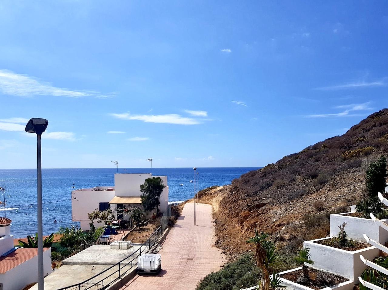 Terrassen-Maisonette in unmittelbarer Meeresnähe
