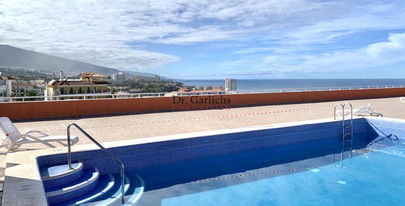 Altersgerechtes Penthouse mit Privat-Zugang zum Pool