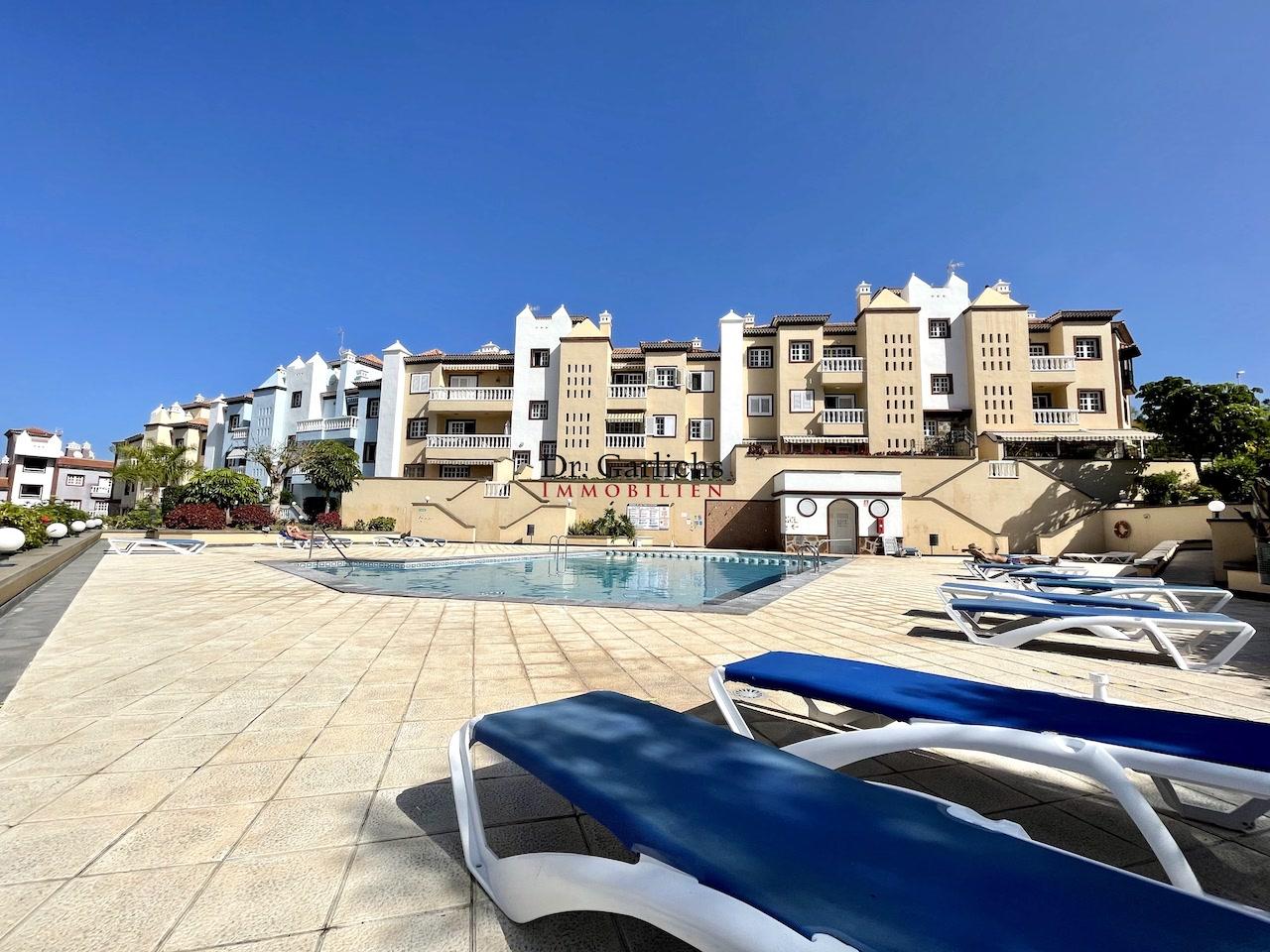 Gepflegtes Apartment mit Pool unterhalb vom Taoro Park